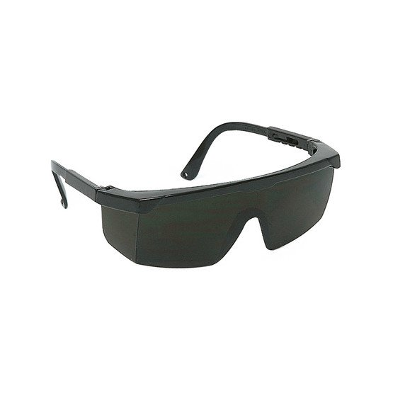 NOIR - Lunette protection professionnelle de travail Monture en polyamide EN 166 EPI de l'œil : Protection contre les dangers po