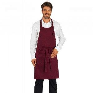 BORDEAUX - Tablier de service de cuisine professionnel noire hôtel restaurant serveur restauration