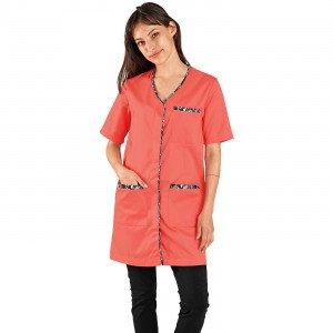 blouse professionnelle manches courtes Johanna - PAPAYE/WAX