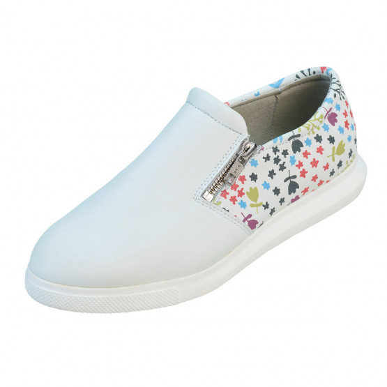 BLANC/MATISSE - Chaussure professionnelle de travail blanche femme - PROMO auxiliaire de vie infirmier aide a domicile médical