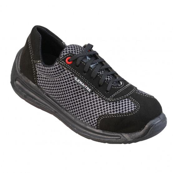 GRIS - Chaussure de sécurité S1P professionnelle de travail ISO EN 20345 S1P mixte foyer artisan manutention entretien