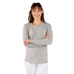 KIKA TEE SHIRT FEMME ML ELASTHANNE - GRIS