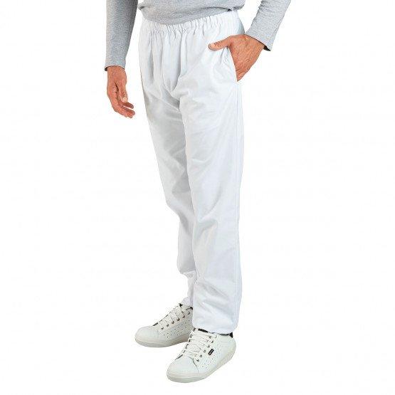 Pantalon longueur réglable Dom - BLANC
