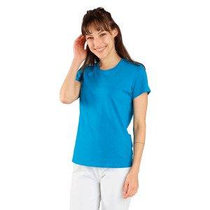 ATOLL - Tee-shirt professionnelle de travail à manches courtes femme médical auxiliaire de vie infirmier aide a domicile