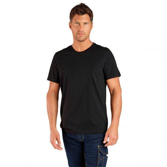 Tee-shirt professionnel travail manches courtes homme auxiliaire vie infirmier aide domicile medical - NOIR