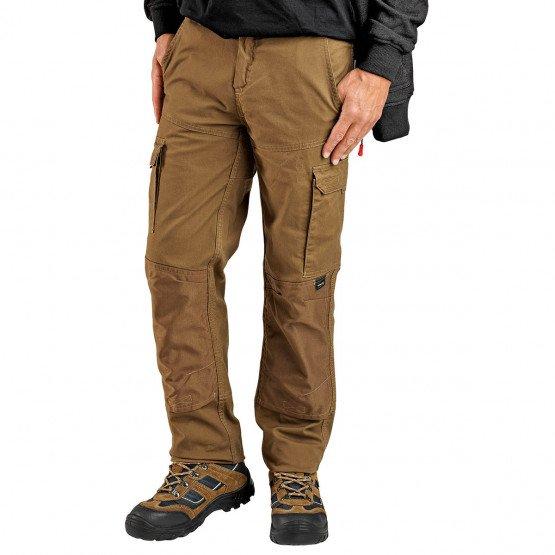 Pantalon travail professionnel homme manutention chantier logistique artisan - CAMEL