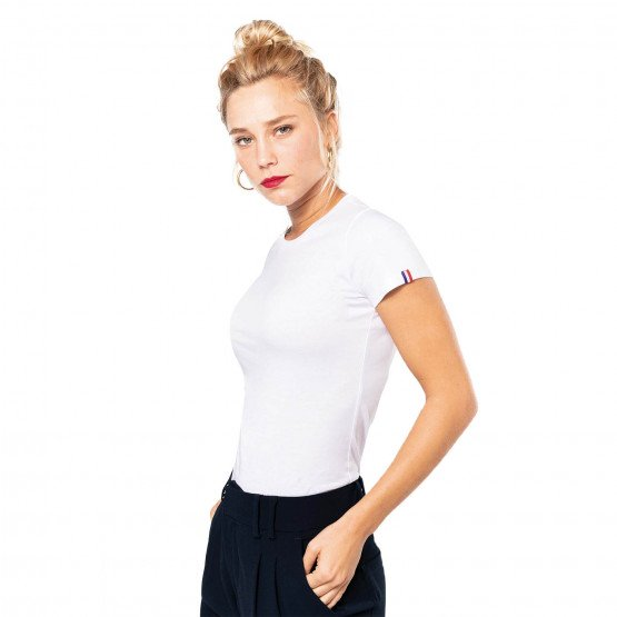MARTINE TS MADE IN FRANCE FEMME - BLANC