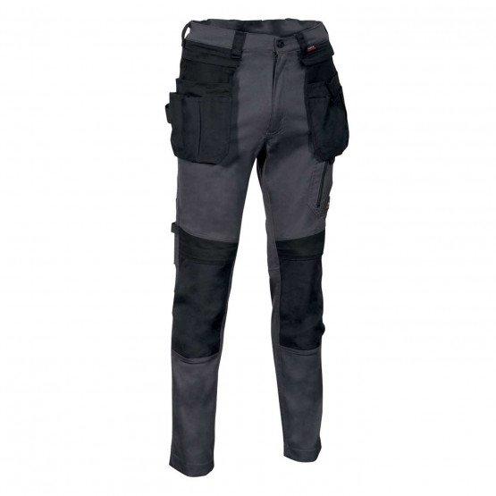 ARDOISE/NOIR - Pantalon de travail professionnelle homme entretien menage chantier transport
