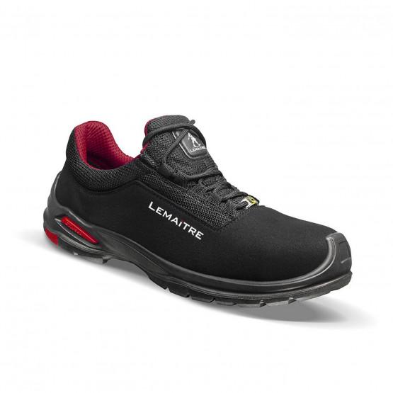 NOIR - Chaussure de sécurité S3 professionnelle de travail noire ISO EN 20345 S3 mixte transport artisan manutention chantier
