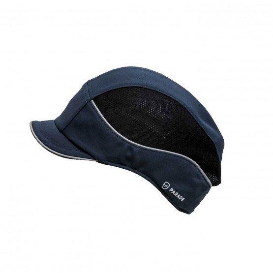 MARINE - casquette professionnelle de travail 100% nylon CE EN 812:A1 mixte chantier artisan logistique transport
