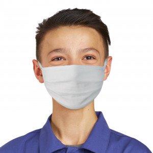Lot de 100 masques lavable Enfant 7-14 ans