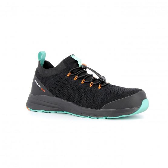 NOIR - Chaussure de sécurité S1P professionnelle de travail noire ISO EN 20345 S1P mixte entretien artisan transport menage