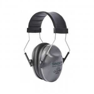 NOIR - Casque professionnelle de travail EN 352 Protection contre le bruit, pour les serre-tête (montés ou pas sur casque), bouc