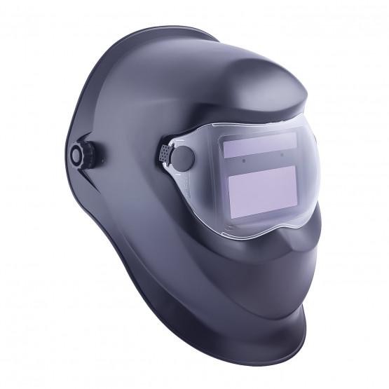 NOIR - Masque professionnelle de travail Polypropylène rigide EN 166 EPI de l'œil : Protection contre les dangers pouvant endomm
