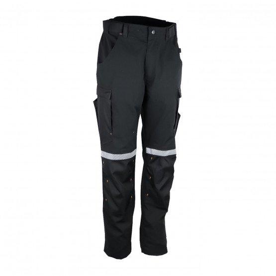 NOIR - Pantalon de travail professionnelle homme chantier menage artisan entretien
