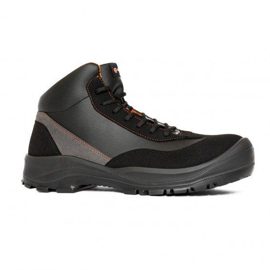 NOIR - Chaussure de sécurité S3 professionnelle de travail noire ISO EN 20345 S3 mixte élève menage entretien artisan