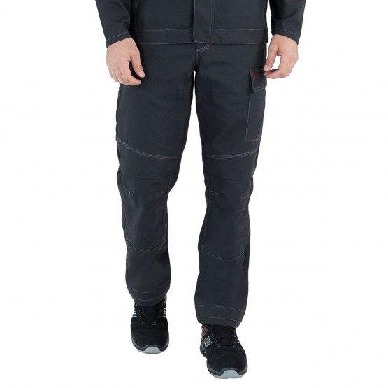 Pantalon de travail Coton/Polyester Basalte LAFONT