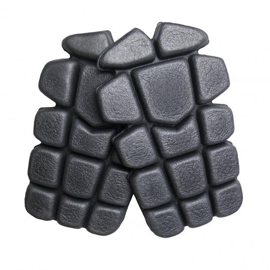 GRIS - Genouillère professionnelle de travail Mousse 100% Polyéthylène EN 14404 : applicable uniquement si le pantalon est porté