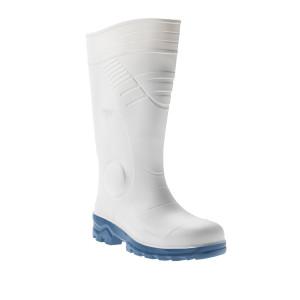 Chaussure de cuisine de sécurité blanche S1 Carpi