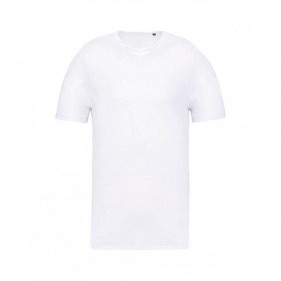 BLANC - Tee-shirt professionnelle de travail à manches courtes homme artisan boulanger coiffeur médical