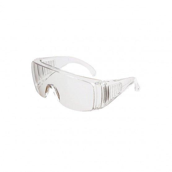 INCOLORE - Surlunette de protection professionnelle de travail EN 166 EPI de l'œil : Protection contre les dangers pouvant endom