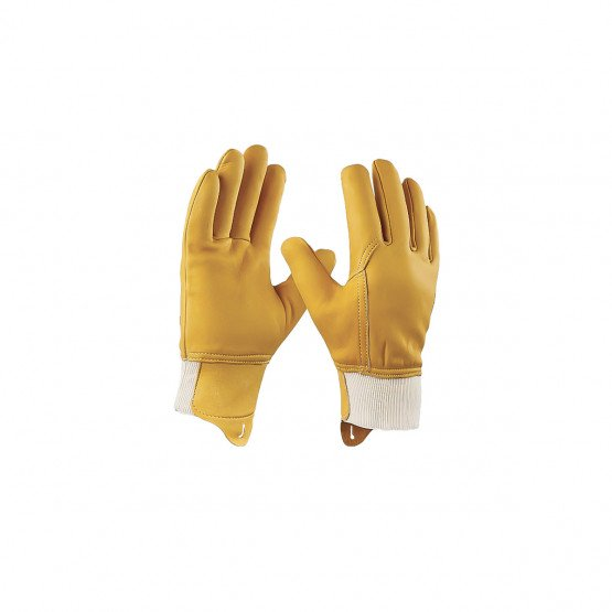 BEIGE - Gants hydrofuges protège artères professionnel de travail cuir pleine fleur de vachette EN 420 Conforme aux exigences gé
