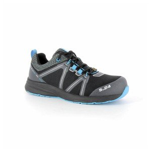 BLEU - Chaussure de sécurité S3 professionnelle de travail ISO EN 20345 S3 mixte manutention artisan transport chantier