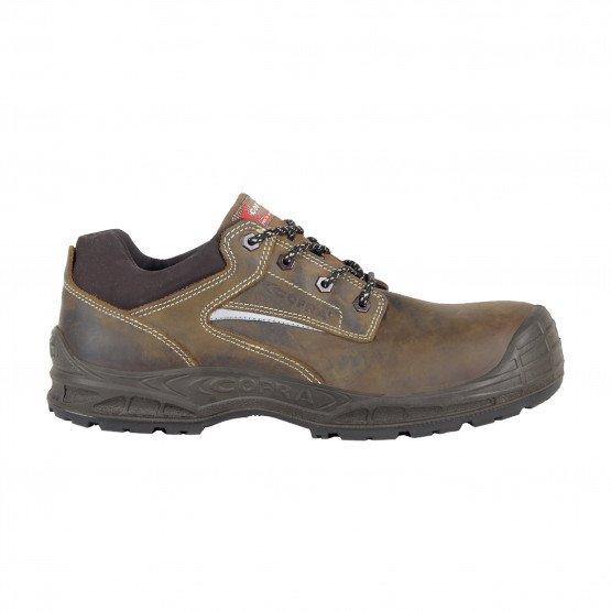 MARRON - Chaussure de sécurité S3 professionnelle de travail ISO EN 20345 S3 mixte transport chantier manutention artisan