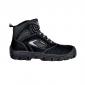 NOIR - Chaussure de sécurité S1P professionnelle de travail noire ISO EN 20345 S1P mixte chantier menage artisan entretien