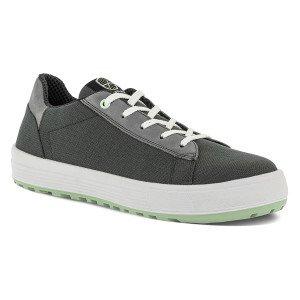 NOIR - Chaussure de sécurité S1P professionnelle de travail noire ISO EN 20345 S1P mixte artisan menage chantier entretien