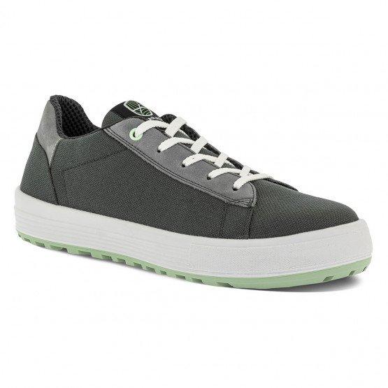 GRIS - Chaussure de sécurité S1P professionnelle de travail noire ISO EN 20345 S1P mixte artisan menage chantier entretien