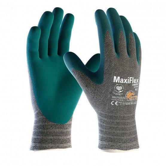 VERT - Gants de manutention professionnel de travail EN 407 Gants de protection contre la chaleur et le feu transport artisan