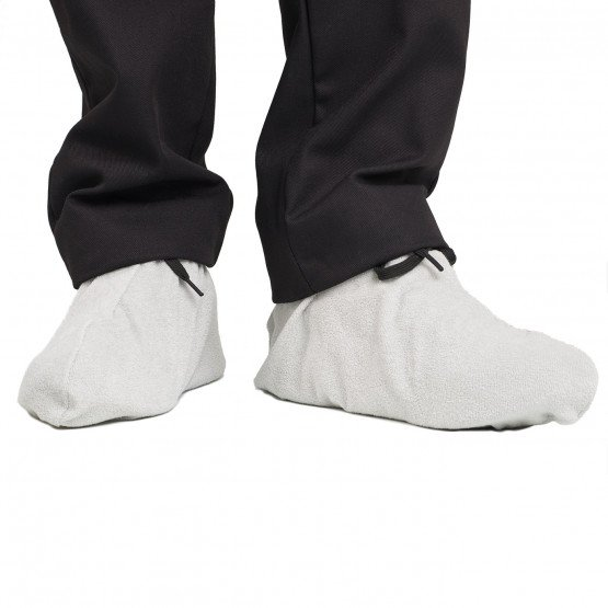 PERLE - Sur-chaussure en éponge professionnelle de travail Coton/Polyester homme aide a domicile infirmier auxiliaire de vie méd
