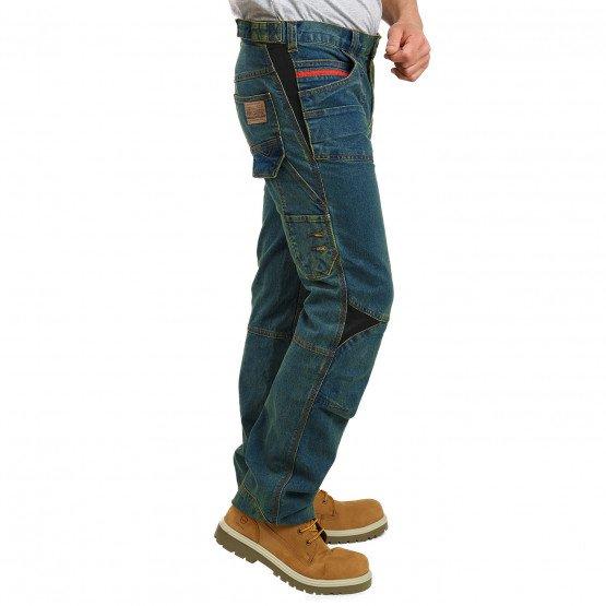 JEAN - Pantalon de travail professionnelle homme logistique chantier transport artisan