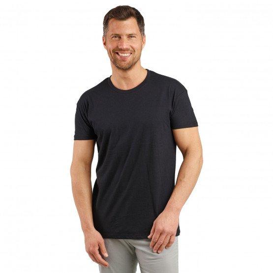 NOIR - Tee-shirt professionnelle de travail à manches courtes homme artisan patissier transport esthéticienne