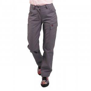 GRIS - Pantalon de travail professionnelle femme artisan logistique chantier transport