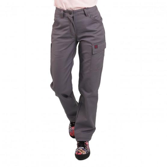 GRIS - Pantalon de travail professionnelle femme transport artisan logistique chantier