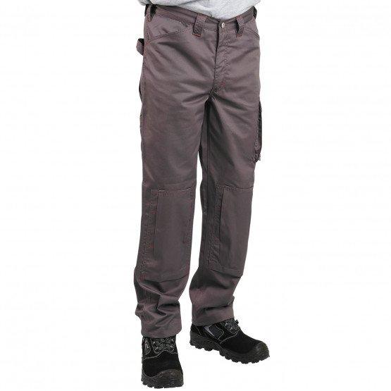 GRIS - Pantalon de travail professionnelle homme - PROMO chantier entretien artisan menage