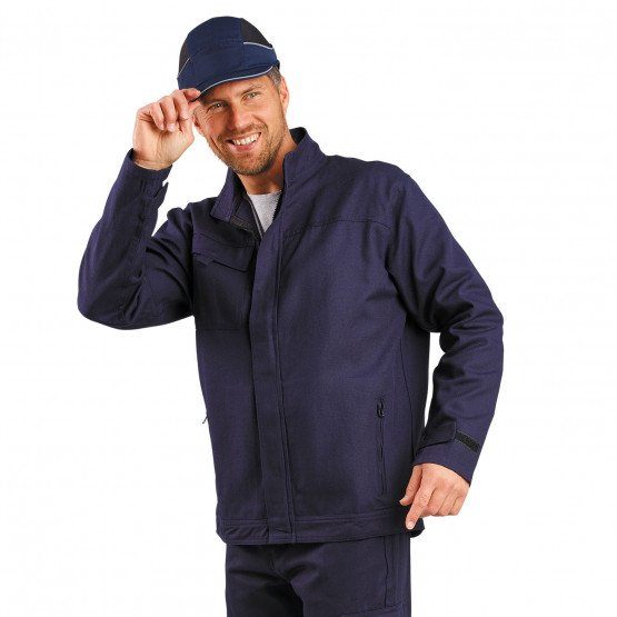 MARINE - Veste de travail professionnelle à manches longues homme transport chantier logistique artisan