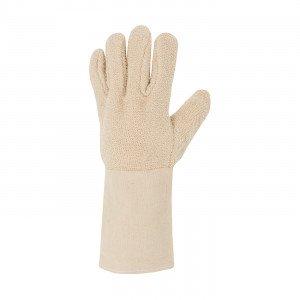 BLANC - Gant alimentaire professionnel de travail 100% coton EN 420 Conforme aux exigences générales en matière de gants de prot
