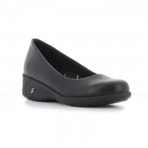 NOIR - Chaussure professionnelle de travail noire ISO EN 20347 femme auxiliaire de vie médical aide a domicile infirmier