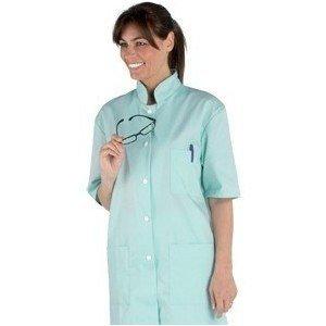Tunique professionnelle travail manches courtes mixte - PROMO aide domicile medical auxiliaire vie infirmier