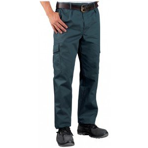 Pantalon de travail Polyester / Coton Multipoches en 38, 40, 44 et 46