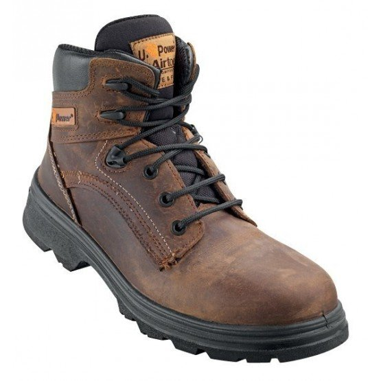 Brodequin securite S3 professionnel travail cuir ISO EN 20345 S3 homme menage chantier entretien artisan - CAMEL
