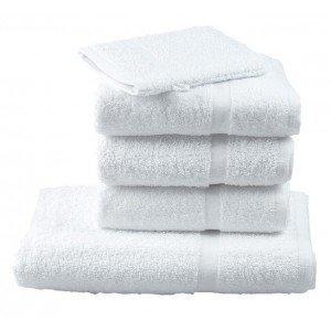 Tapis bain professionnel hebergement foyer blanc 100% Coton hotel ecole serveur internat - BLANC