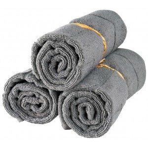 Lot de 3 tapis de bain April