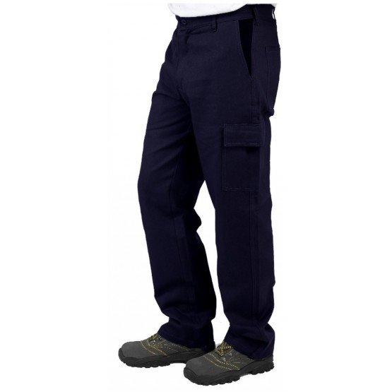 Pantalon travail professionnel homme transport chantier logistique artisan - MARINE