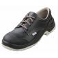 Chaussure securite professionnelle travail noire cuir ISO EN 20345 S3 mixte entretien artisan menage chantier - NOIR