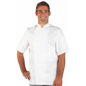 Veste de cuisine Marius manches courtes PROMO en taille 5