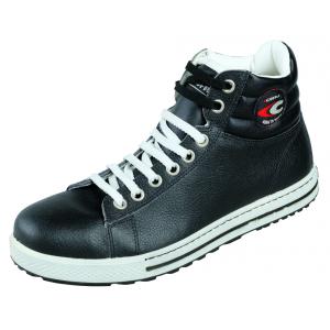 Chaussure securite professionnelle travail noire cuir ISO EN 20345 S3 homme menage auxiliaire vie entretien aide domicile - NOIR